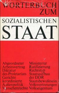 Wörterbuch zum sozialistischen Staat.