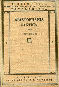 Cantica. Digessit stropharum popularium appendiculam adiecit Otto Schröder.