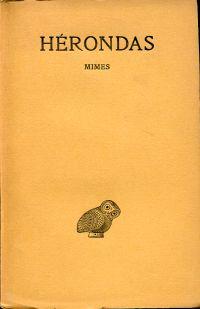 Mimes. Texte établi par J. Arbuthnot Nairn et trad. par Louis Laloy.