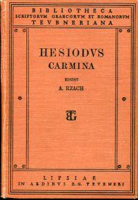 Hesiodi Carmina. Edidit A. Rzach.