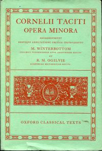 Opera minora. Recogn. breviqve adnot. critica instruxeruxit Michael Winterbottom et R. M. Ogilvie.