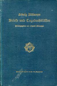 Briefe und Tagebuchblätter.