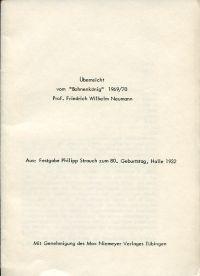 """Zur Geschichte der """"Gesellschaft der Freunde Kants"""" in Königsberg i. Pr."""
