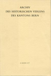 Die Bernischen Orgeln. Die Wiedereinführung der Orgel in den reformierten Kirchen des Kantons Bern bis 1900. Unter Mitarbeit von Dora Hegg und Hans Schmocker.