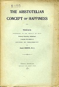 The Aristotelian concept of happiness.