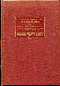 Allgemeine Geschichte der Philosophie.