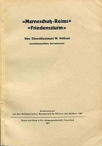 """""""Marneschutz-Reims"""", """"Friedenssturm""""."""