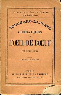 Chroniques de l'Oeil-de-boeuf.