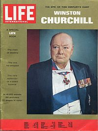 The unforgettable Winston Churchill. Giant of the century.