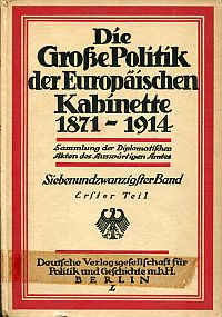 Zwischen den Balkankrisen 1909-1911.