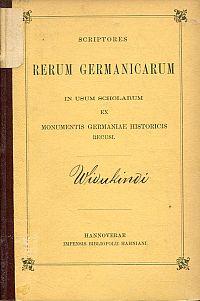 Widukindi Rerum gestarum Saxonicarom libri tres.