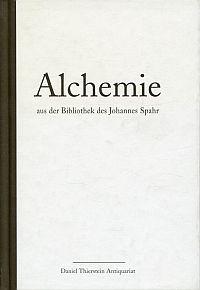 Alchemie aus der Bibliothek des Johannes Spahr.