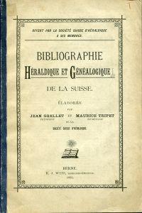 Héraldique et généalogie. Heraldik und Genealogie. bearb. von Jean Grellet und Maurice Tripet.
