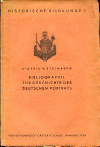 Bibliographie zur Geschichte des deutschen Porträts.