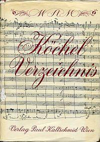 """W.A. Mozart, Gesamtkatalog seiner Werke. """"Köchel-Verzeichnis"""". Neu bearbeitet und hrsg. v. Karl Franz Müller."""