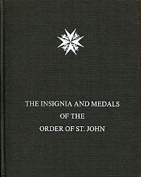 The insignia and medals of the Grand Priory of the most venerable Order of the Hospital of St. John of Jerusalem.