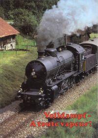Volldampf - A toute vapeur! Die letzten Jahre des Dampfbetriebes bei den SBB. Les dernières années de la traction à vapeur des CFF.