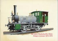 100 Jahre Bischofszeller-Bahn. (Sulgen - Gossau) 1876 - 1976.