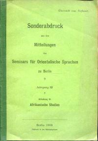 Kimatengo-Wörterbuch.