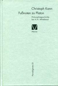 Fußnoten zu Platon. Philosophiegeschichte bei A. N. Whitehead.
