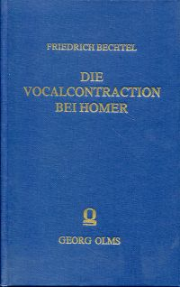 Die Vocalcontration bei Homer.