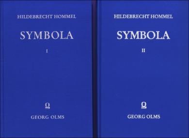 Symbola. Kleine Schriften zur Literatur- und Kulturgeschichte der Antike.