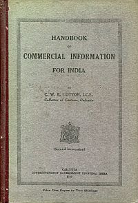Handbook of commercial information for India.