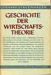 Geschichte der Wirtschaftstheorie.