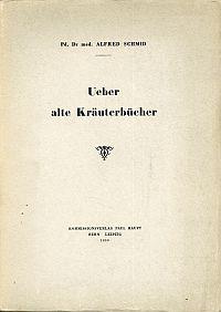 Ueber alte Kräuterbücher.